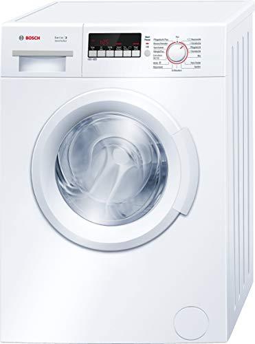 Bosch WAB28222 Serie 2 Waschmaschine Frontlader / A+++ / 153 kWh/Jahr / 1400 UpM / 6 kg / Weiß /...