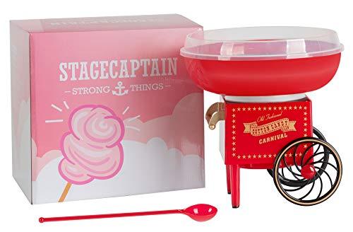 Stagecaptain CFM-500 Zuckerwattemaschine für Zuhause - Cotton Candy Maker für Kindergeburtstag - 500W...