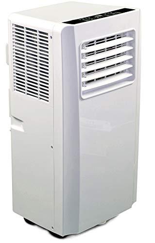 JUNG AIR TV05 mobiles Klimagerät mit Fernbedienung + Abluft-Schlauch - 3,2 KW/11000 BTU - STROMSPAREND,...