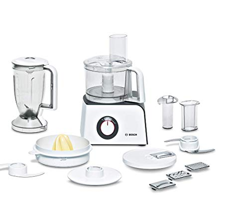 Bosch Kompakt-Küchenmaschine MCM4 Styline MCM4100, 35 Funktionen, Rührschüssel 1kg Teig, Mixer 1,25 L,...