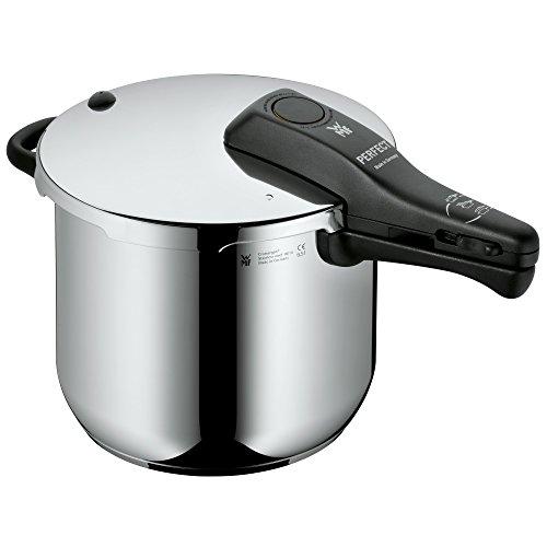 WMF Perfect Schnellkochtopf Induktion 6,5l, Dampfkochtopf, Cromargan Edelstahl poliert, 2 Kochstufen,...