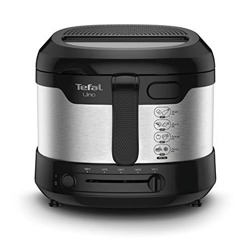 Tefal Uno M Fritteuse FF215D | 1600 Watt | Kapazität: 1 kg | Einstellbares Thermostat | Sichtfenster |...