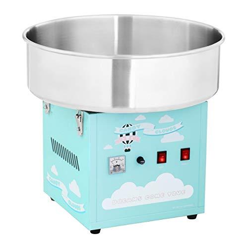 Royal Catering Zuckerwattemaschine Profi Cotton Candy Maschine RCZK-1200-BG (1200 W, Ø 52 cm, 1 Einheit /...
