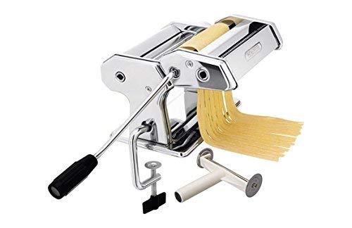 IBILI Pastamaschine Italia 17 cm aus Edelstahl, Silber, 17 x 5 x 2 cm