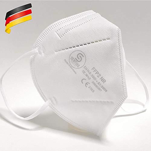 FFP2 Maske in Deutschland hergestellt - geprüfte Atemschutzmaske mit 98% Filterwirkung – EN 149 geprüft,...