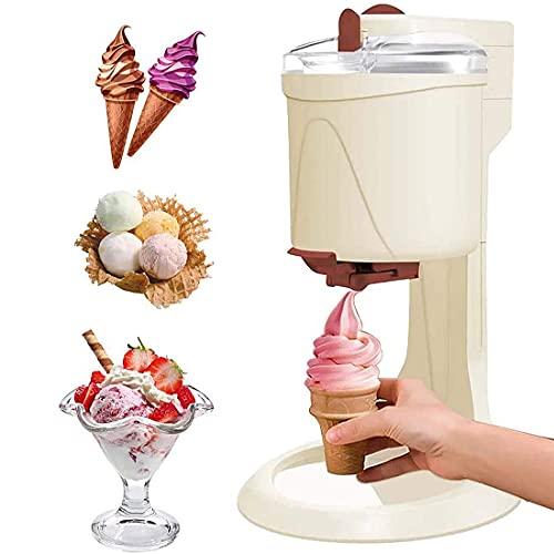 Tragbare Eismaschine Mit Kompressor Softeismaschine Entnehmbarer Eisbehälter Für Zuhause Ice Cream Machine...