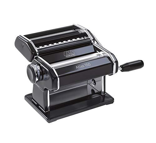 Küchenprofi Nudelmaschine Atlas 150 schwarz, Aluminium, 20.3 x 14 x 20.3 cm