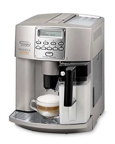 De'Longhi Magnificia ESAM 3500 S Kaffeevollautomat | Cappuccino auf Knopfdruck | Großer 1,8 L Wassertank | 16...