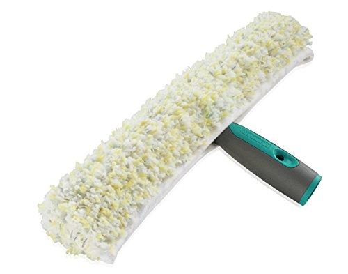 Leifheit Professional Einwascher 35 cm mit spezieller Reinigungsfaser, Fensterreiniger mit verstärktem...