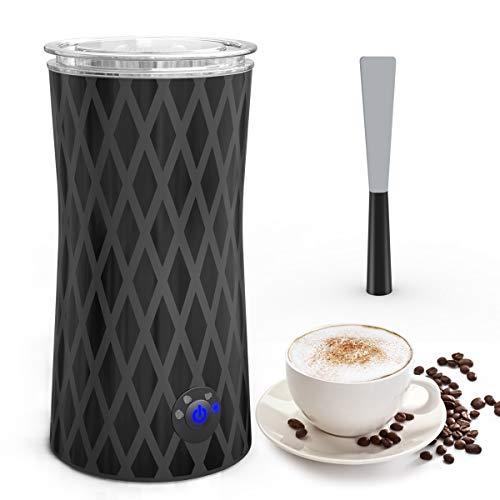 Milchaufschäumer Elektrisch, morpilot Automatischer Milchschäumer | Milk Frother | Milchwärmer, eine Taste...
