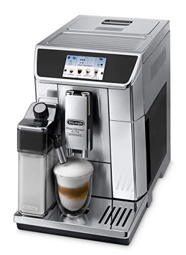 De'Longhi PrimaDonna Elite Experience ECAM 656.85.MS Kaffeevollautomat mit Milchsystem, Cappuccino auf...