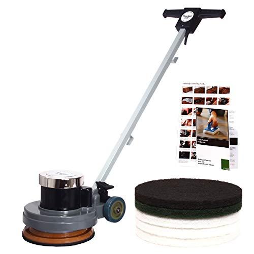 Floorboy 12 Zoll Reinigungs- und Poliermaschinen Set mit Anleitungen, Pads und Padkunde von Bioraum