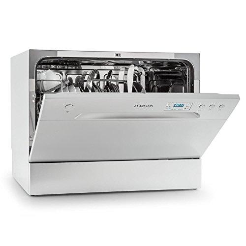 Klarstein Amazonia 6 Spülmaschine Tischgeschirrspüler (freistehend, 174 kWh/Jahr, 55 cm breit, 49 dB leise,...
