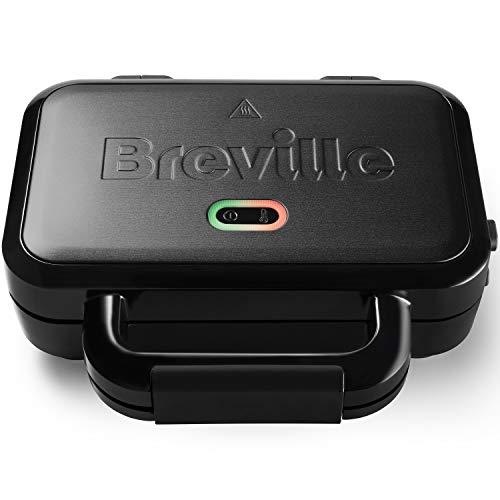Breville Ultimate-Sandwichmaker mit extra tiefen Platten | Sandwichtoaster zum Toasten von 2Scheiben |...