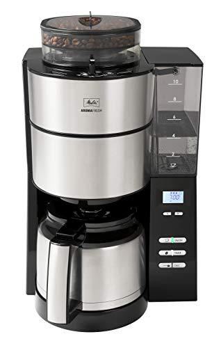 Melitta AromaFresh 1021-12 Filter-Kaffeemaschine mit Therm-Kanne und integriertem Mahlwerk, ca. 10 Tassen,...