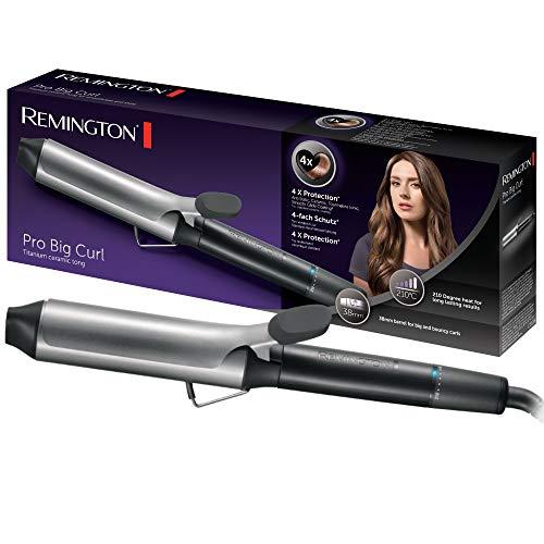 Remington Lockenstab Pro Big Curl CI5538, 38mm für große Locken, 4-facher Schutz, antistatischer...