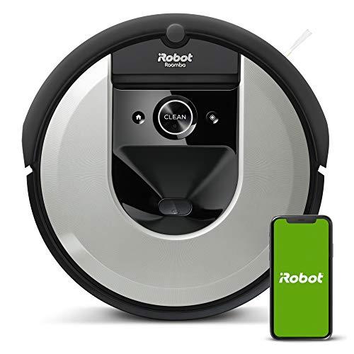iRobot Roomba i7 (i7156) Saugroboter, 3-stufiges Reinigungssystem, intelligente Raumerfassung,...