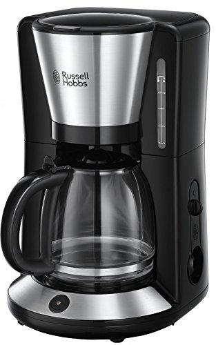 Russell Hobbs Kaffeemaschine Adventure Edelstahl, Glaskanne bis zu 10 Tassen, 1,25l, Warmhalteplatte,...