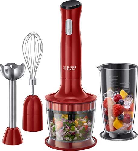 Russell Hobbs Stabmixer 3-in-1 Desire (Zerkleinerer, Mixer- & Schneebesenaufsatz), BPA-freies &...
