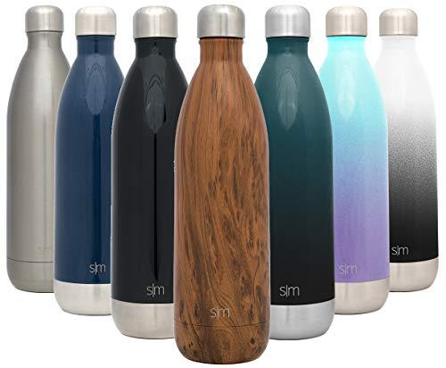 Simple Modern 1 L (34oz) Wave Trinkflasche - Wasserflasche Thermosflasche Thermoskanne für Sport,...