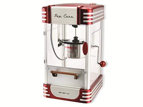 Emerio Popcornmaschine POM-120650, antihaftbeschichteter Behälter auch für süßes oder salziges Popcorn...