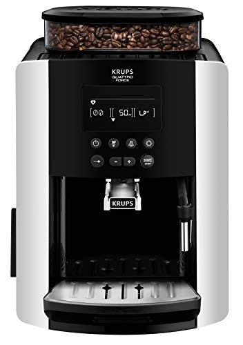 Krups EA8178 Arabica Display Quattro Force Kaffeevollautomat (1450 Watt, Wassertankkapazität: 1,8l,...
