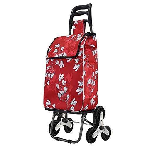 Einkaufswagen, Faltbarer Einkaufswagen Treppensteigender Wagen mit wasserdichter Einkaufstasche, für...