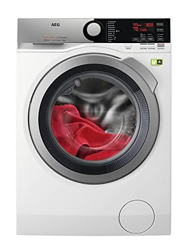AEG L8FE74485 Waschmaschine / ProSteam - Auffrischfunktion / ÖKOMix - Faserschutz / 8,0 kg / Leise /...