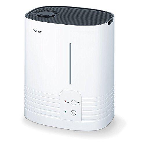 Beurer LB 55 Luftbefeuchter, mit hygienischer Warmwasser-Verdampfungstechnologie, für Räume bis 50 m²