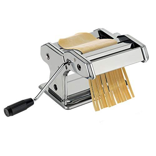 Westmark Pasta-/Nudelmaschine, Für Lasagne, Spaghetti und Tagliatelle, Stahl/Rostfreier Edelstahl, 19,5 x 20...