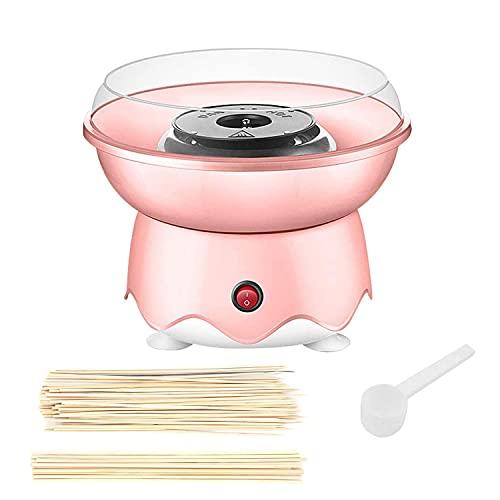 MoYouno Zuckerwattemaschinen, Mini Zuckerwatte-Hersteller kommt mit Bambusstöcken und Löffeln, Geschenk für...
