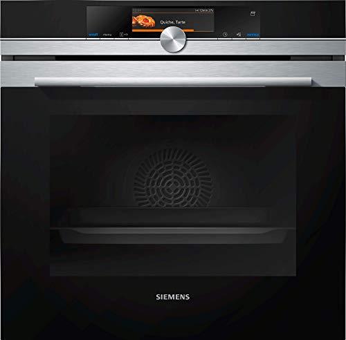 Siemens HS658GXS7 iQ700 Einbau-Dampfbackofen A+ / WLAN-fähig mit Home Connect / coolStart-kein Vorheizen /...