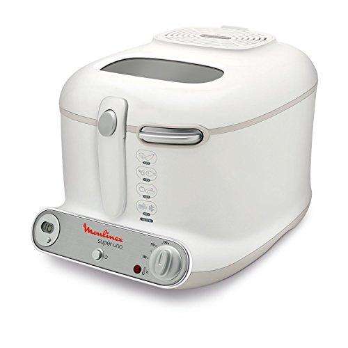 Moulinex AM3021 Fritteuse Super Uno / 1.800 Watt / Timer / wärmeisoliert / 1,5 kg Fassungsvermögen /...