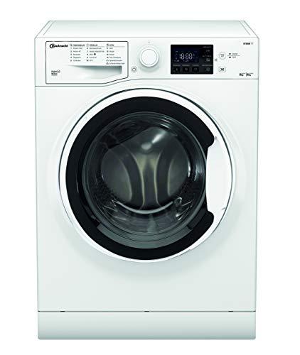 Bauknecht WT 86G4 DE N Waschtrockner / 8/6kg Waschen/Trocknen / Flecken 40° / Dampf-Programm / ProSilent...