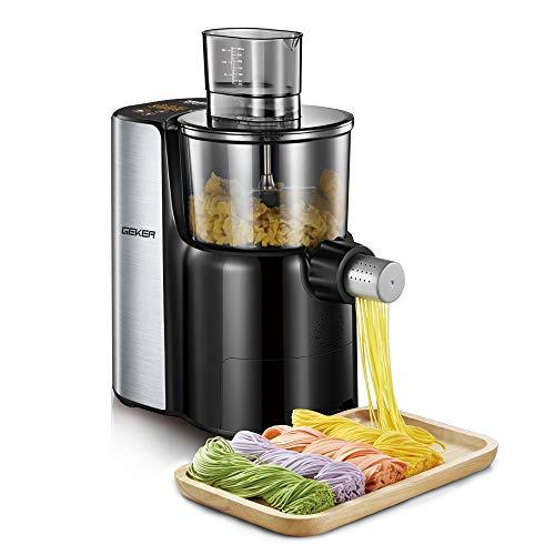 GEKER Pastamaker vollautomatische Nudelmaschine aus Edelstahl Automatisches Mischen, Kneten und Ausgeben
