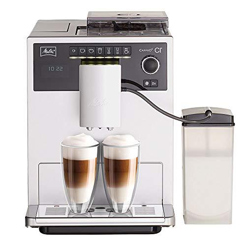 Melitta Caffeo CI E970-101 Kaffeevollautomat | mit Milchbehälter | Zweikammern-Bohnenbehälter | One Touch...