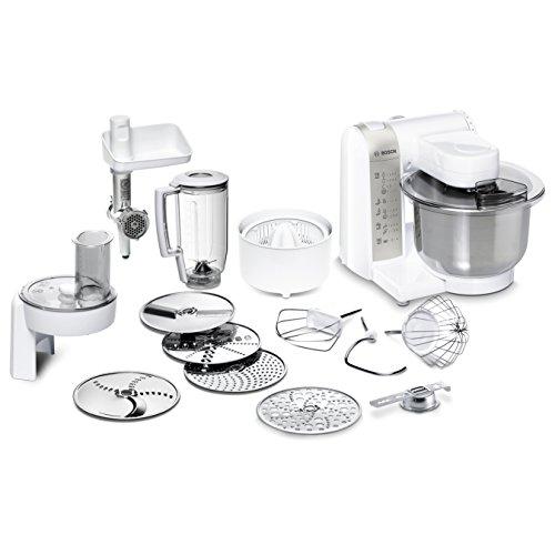 Bosch MUM48140DE Küchenmaschine (Vielseitigkeit durch diverses Zubehör, große Rührschüssel, 4...