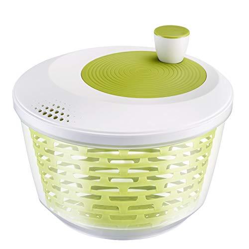 Westmark Salatschleuder, Fassungsvermögen: 4,4 Liter, ø 23,5 cm, Kunststoff, BPA-frei, Spinderella, Farbe:...