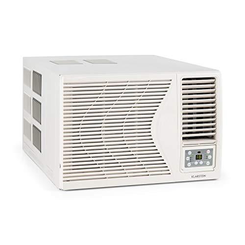 Klarstein Frostik - Fenster-Klimaanlage, Klimagerät, 4-stufiger Ventilator, Energieeffizienzklasse A,...