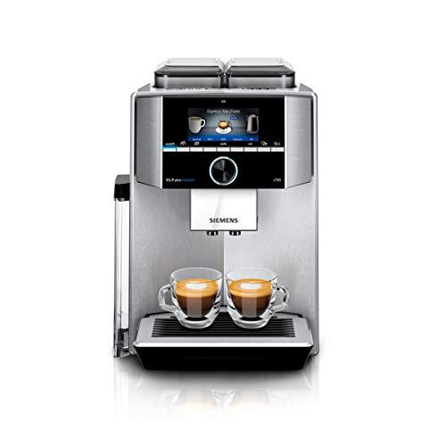 Siemens EQ.9 plus connect s700 Kaffeevollautomat TI9575X1DE, Personalisierung, 2 Bohnenbehälter, Mahlwerke,...