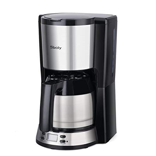 Kaffeemaschine mit thermoskanne, Sboly Filterkaffeemaschine mit Thermo-Kanne, kaffeemaschine mit...