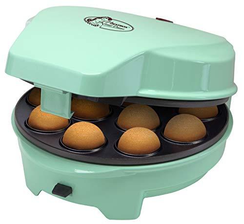 Bestron 3-in-1 Cakemaker im Retro Design, Für Donuts, Muffins und Cakepops, Sweet Dreams,...