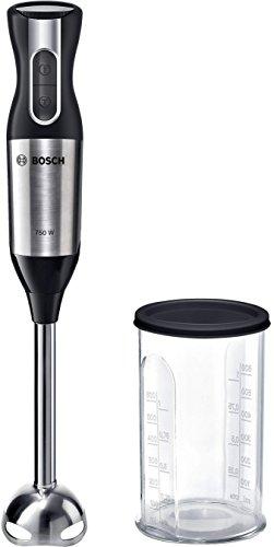 Bosch ErgoMixx Style–Stabmixer, 750W, Drehzahlregler und Turbofunktion, Kuppel mit vier Klingen Ohne...