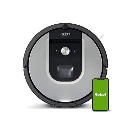 iRobot Roomba 971 Saugroboter mit starker Saugkraft, 3-stufigem Reinigungssystem, Raumkartierung, Zwei...
