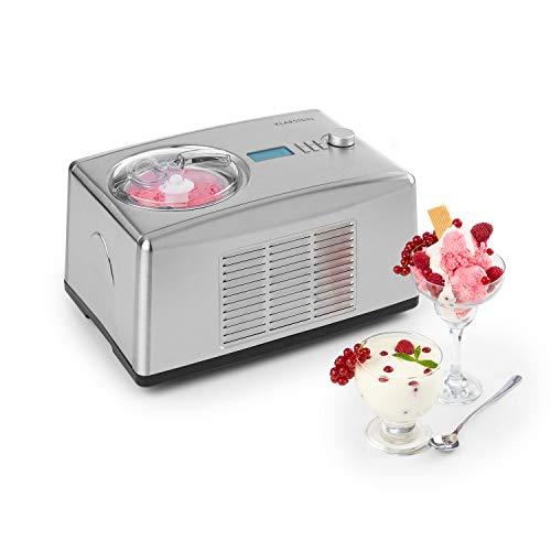 Klarstein Yo & Yummy 2-in-1 Eiscremebereiter & Yoghurt Maker Eiscremebereiter Joghurtmaschine Softeismaschine...