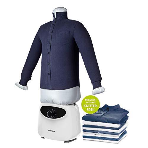 LADENDRA NEU! - Hemdenbügler mit 2in1 Bügelpuppe - Bügelmaschine für Hemden - Bügelautomat zum bügeln...