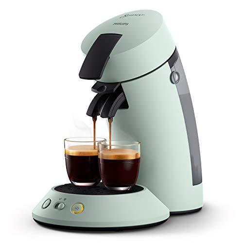 Philips Senseo Original Plus CSA210/20 Kaffeepadmaschine (Kaffeestärkewahl, Kaffee Boost Technologie, aus...