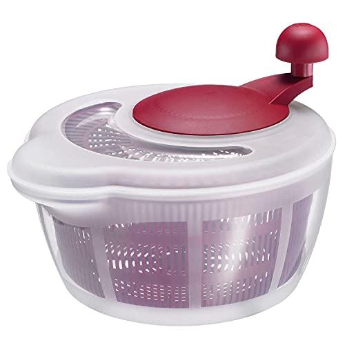 Westmark Salatschleuder, Fassungsvermögen: 5 Liter, ø 26 cm, Kunststoff, BPA-frei, Fortuna, Farbe:...