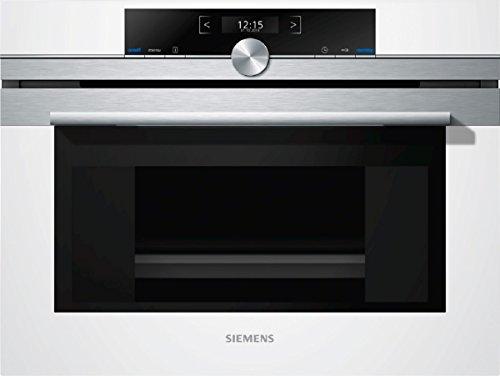 Siemens CD634GBW1 iQ700 Einbaudampfgarer / 38 L / Halogen-Innenbeleuchtung / weiß