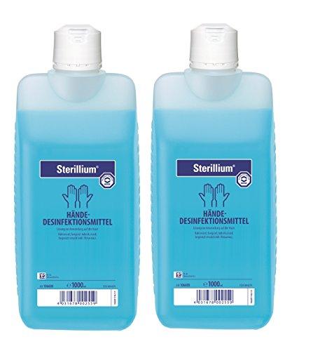 2 x Sterillium Hände - Desinfektionsmittel 1000 ml.